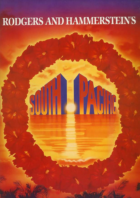 South Pacific (Musical), Paige O'Hara, Andre Jobin, Philip Gould, Paul Blackwell - 1993 Australian Production