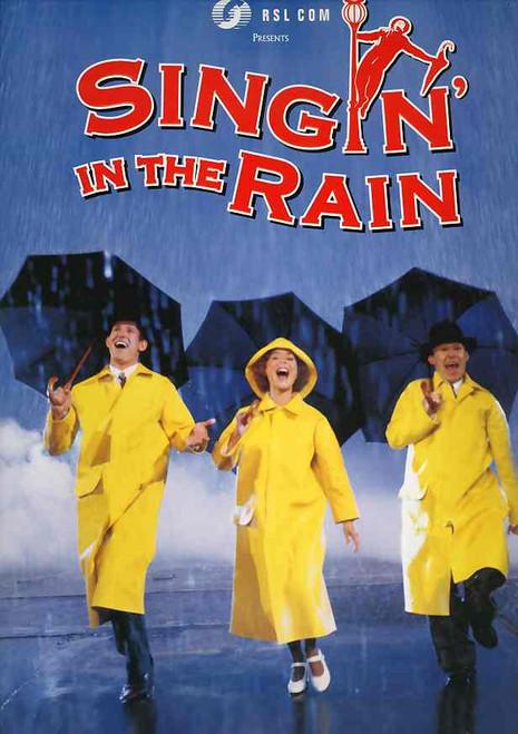 Singin' in the Rain (Musical), Todd McKenney, Rachael Beck, Wayne Scott Kermond, Jackie Love, 2001 Australian Production