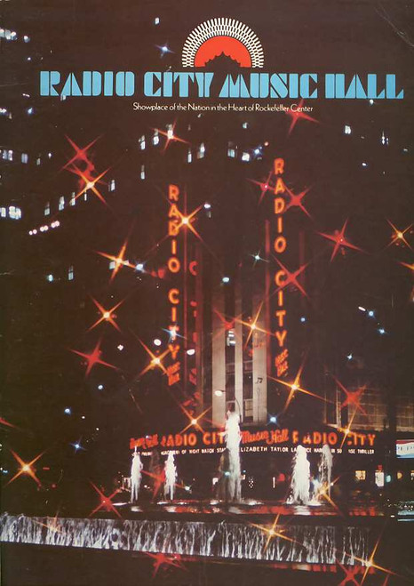 Radio City Music Hall Tour, Mid 1970's Tour Brochure New York, Radio City Music Hall Tour program