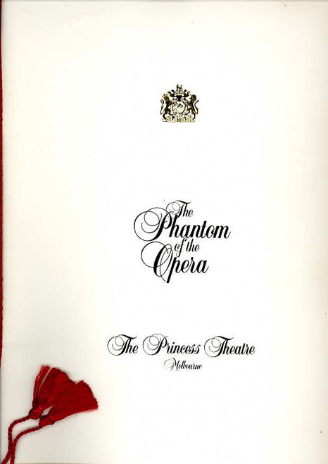 The Phantom of the Opera (Musical), Rob Guest, Marina Prior, Martin Croft, 1991 Australian Production Melbourne
