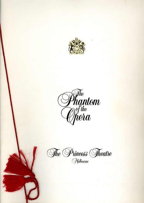 The Phantom of the Opera (Musical), Anthony Warlow, Marina Prior, Dale Burridge, 1990 Original Australian Production Melbourne