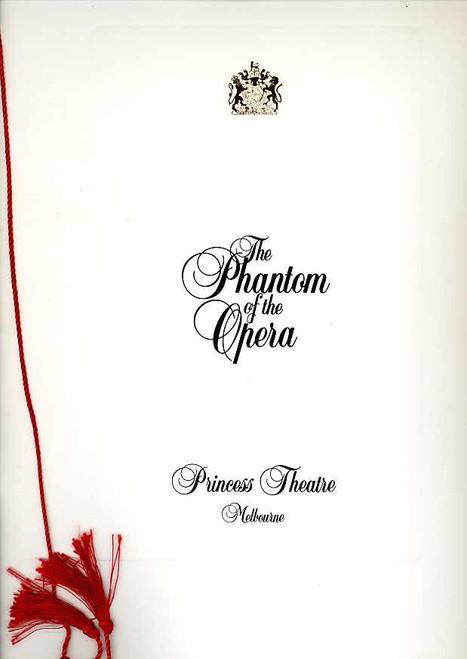 The Phantom of the Opera (Musical), Rob Guest, Danielle Everett, John Bowles, 1997 Return Engagement Melbourne Australia