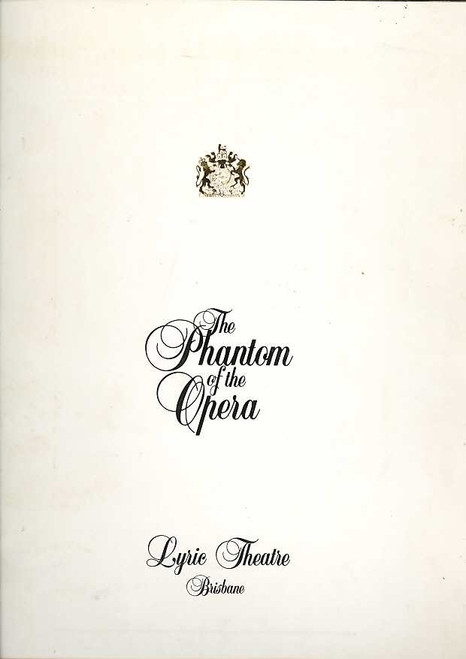 The Phantom of the Opera (Musical), Rob Guest, Danielle Everett, John Bowles, 1996 Australian Production Brisbane (1)