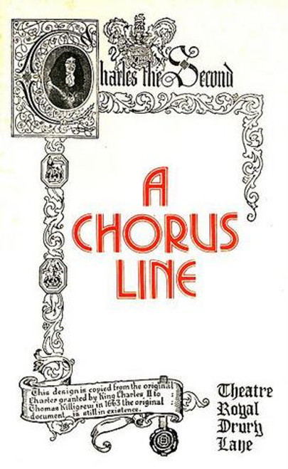 A Chorus Line  is a musical about Broadway dancers auditioning for spots on a chorus line. The book was authored by James Kirkwood, Jr. and Nicholas Dante, lyrics were written by Edward Kleban, and music was composed by Marvin Hamlisch.