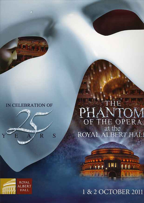 The Phantom of the Opera (Musical), Ramin Karimloo, Sierra Boggess, Hadley Fraser, 25th Anniversary London Production 2011