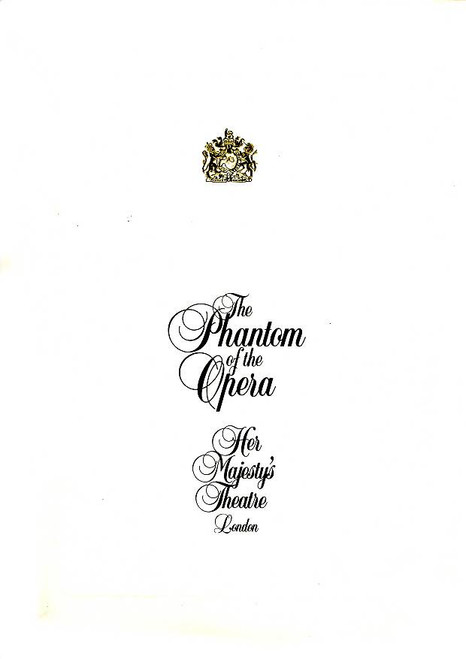 The Phantom of the Opera (Musical), Peter Karrie, Shona Lindsay, Simon Burke, Michael Bauer, 1993 London Production