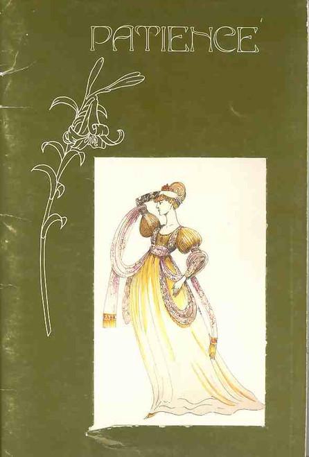 Patience or Bunthorne's Bride (Opera), Cynthia Johnston, Beryl Furlan, Kathleen Moore, 1980 Princess Theatre Melbourne Australia