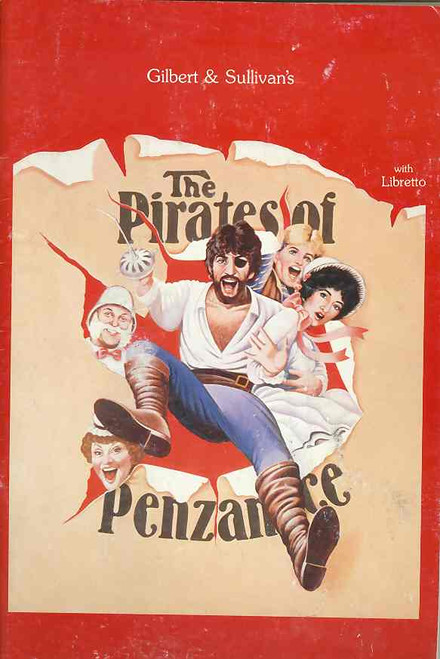 The Pirates of Penzance (Opera), Jon English, Simon Gallaher, David Atkins, June Bronhill, 1984 Australian Production - Melbourne