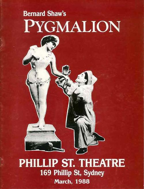 Pygmalion (Play), Heather Pearson, Peggy Thompson, Tom Jennings, Phillip St. Theatre Sydney Australia 1988 Production