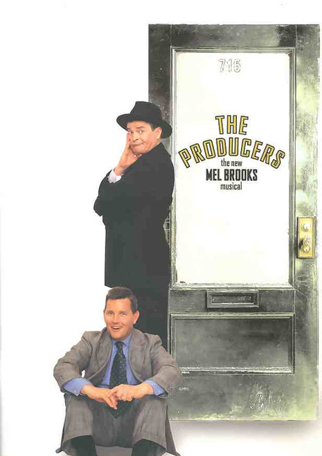 The Producers (Musical), Reg Livermore, Tom Burlinson, Tony Sheldon,  Bert Newton, 2004 Australian Tour Melbourne