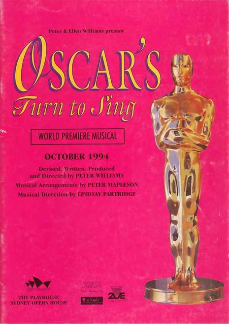 Oscar's Turn to Sing (Musical), Margi De Ferranti, Karen Johnson, Sharon Millerchip, 1994 Sydney Opera House Australia