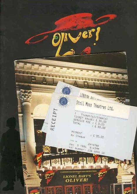 Oliver (Musical), Jonathan Pryce, Sally Dexter, Miles Anderson, Julia Deakin, David Delve, Opening Night 1994 London Palladium