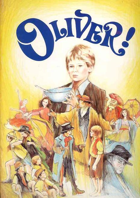 Oliver (Musical), Gary McDonald, Geraldine Turner, Bartholomew John, Martin Grimwood, 1984 Adelaide Australian Production