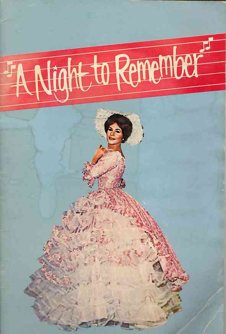 A Night to Remember (Variety), Suzanne Steele, Gerald Stern, John Lidgerwood, Noel Mitchell, Theatre Royal Sydney 1976