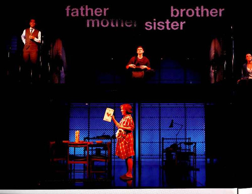Next to Normal (Musical), Alice Ripley, J. Robert Spencer, Aaron Tveit, Jennifer Damiano, Adam Chanier-Berat - Broadway  2009