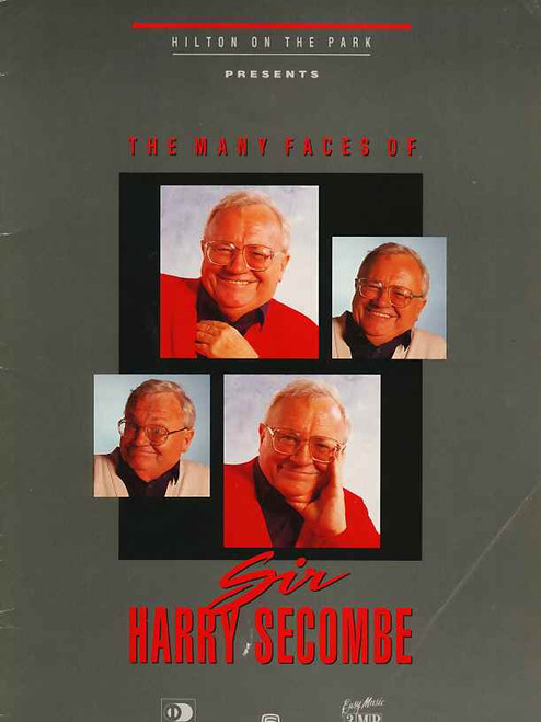 Harry Secombe (Entertainer), Welsh entertainer with a talent for comedy and a noted fine tenor singing voice - Melbourne 1983