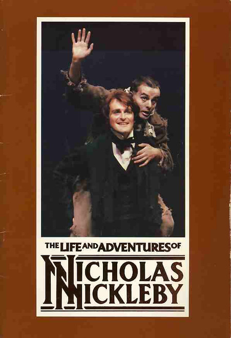 The Life and Adventures of Nicholas Nickleby (Play), Julieanne Newbould, Nicholas Forster, Australian Production Melbourne State Theatre 1984