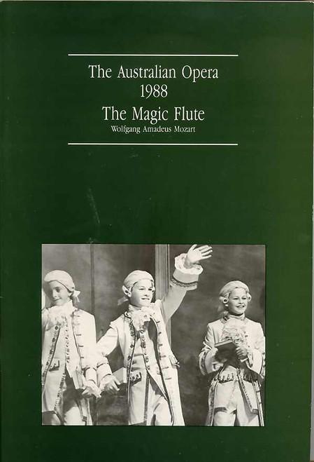 The Magic Flute (Opera), Gregory Tomlinson, Rosamund Illing, Kerry Elizabeth Brown - 1988 Opera Australian Production