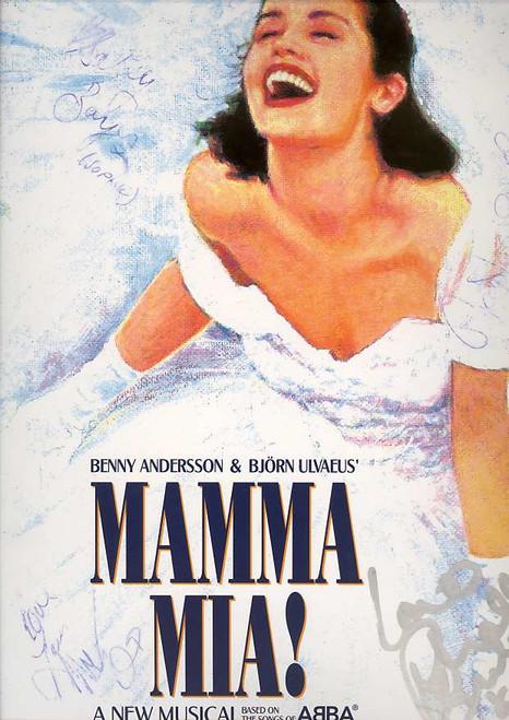 Mamma Mia (Musical), Australian Production Princess Theatre Australian, Premiere 9th June 2001 - Signed