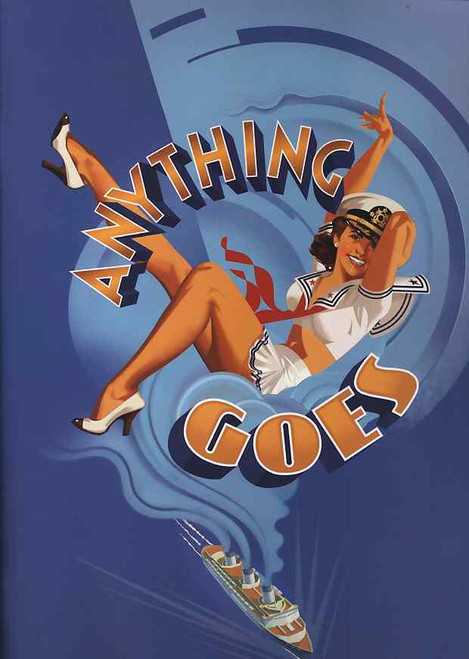Anything Goes (Musical), Sutton Foster, Joel Grey, Andrew Cao, Colin Donnell, Broadway 2011 Revival
