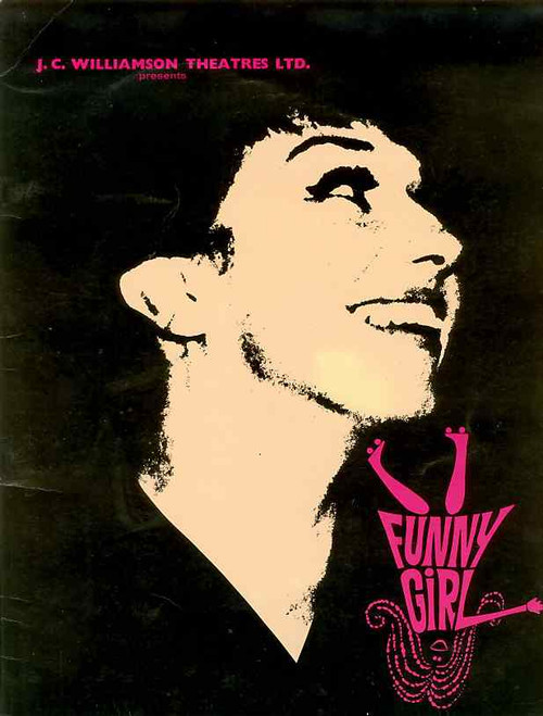 Funny Girl (Musical), Jill Perryman, Evie Hayes, Bruce Barry, Bill Yule, 1966 Australian Production Sydney Season