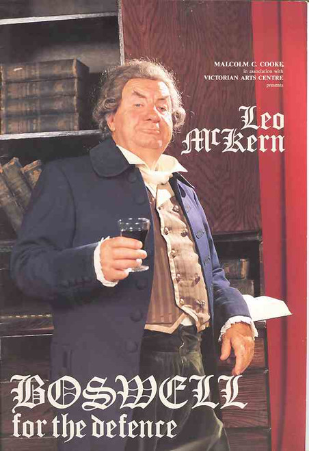 Boswell for the Defence (Play), Leo McKern 1989 Australian Tour