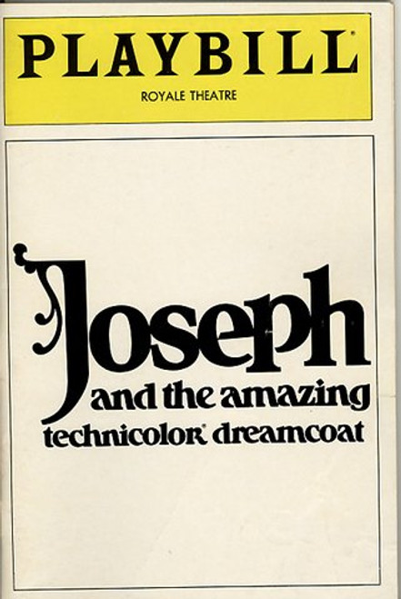 Joseph and the Amazing Technicolor Dreamcoat is the second British musical theatre show written by the team of Andrew Lloyd Webber and Tim Rice.