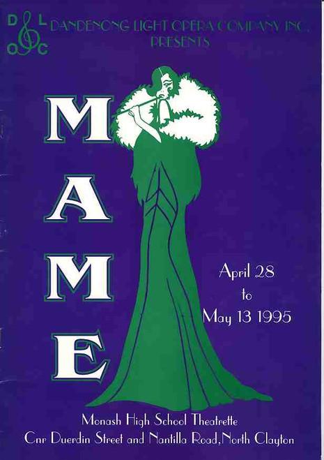 Mame (Musical),  Monash High School Theatrette Production 1995 Melbourne Australia