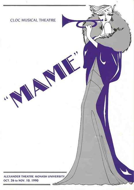 Mame (Musical), Alexander Theatre Monash Uni Production Melbourne Australia 1990