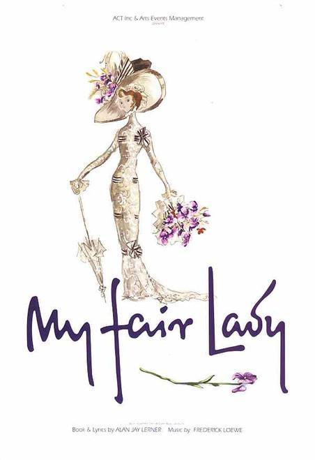 My Fair Lady (Musical), Alan Fletcher, Laura Fitzpatrick, Jon English - 2005 Australian Production