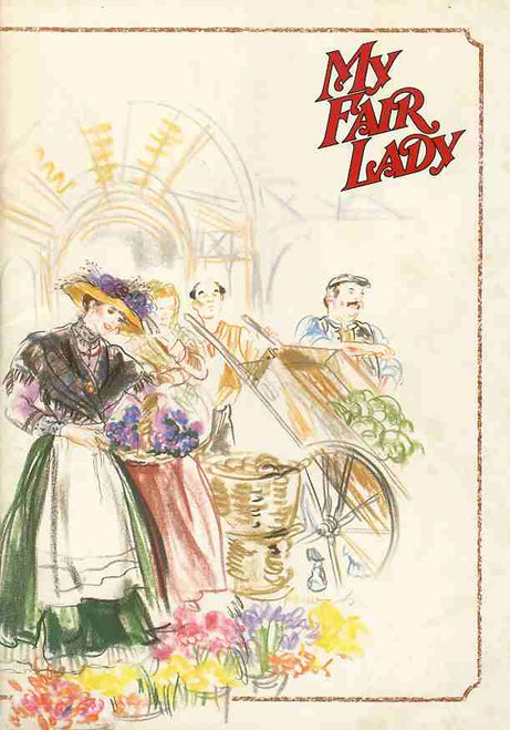 My Fair Lady (Musical), John Waters, Noel Ferrier, Simon Gallaher, June Bronhill, 1988 Australian Sydney Tour