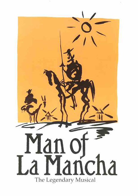 Man of La Mancha (Musical), Daryl Somers, Geoffrey Chard, Jodie Gillies -  1989 Australian Production