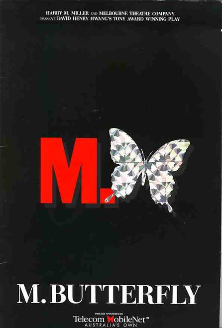 M Butterfly (Play), Robert Grubb, D. Yap, James Condon, Nell Feeney, 1993 Australian Production