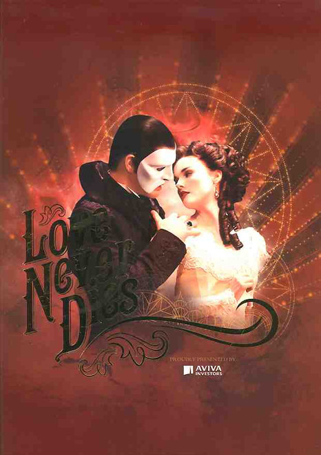 Love Never Dies (Musical),   Ben Lewis,  Anna O'Byrne, Simon Gleeson, Australian Production Capitol Theatre Sydney 2012