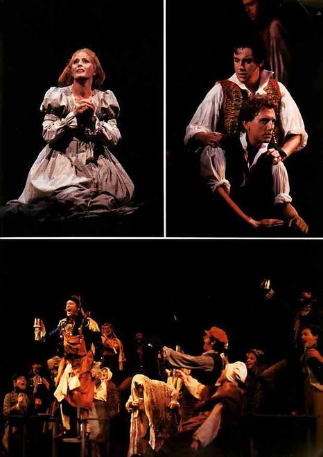 Les Miserables (Musical), Anthony Warlow, Normie Rowe, Philip Quast, Simon Burke, 1987 Australian Production Sydney