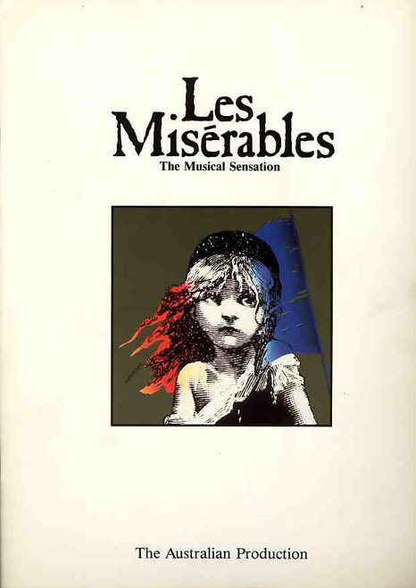 Les Miserables (Musical), Anthony Warlow, Normie Rowe, Philip Quast, Simon Burke, 1987 Australian Production Sydney