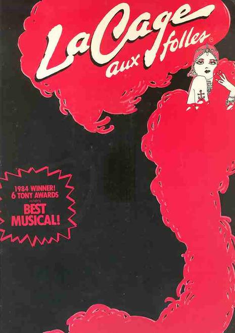 La Cage Aux Folles (Musical), Gene Barry, Walter Charles, Carol Teitel, Joseph Breen, 1984 Pantages Theatre LA
