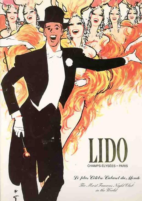 Lido Paris (Cabaret), cabaret and burlesque house on the Champs-Élysées in Paris 1990