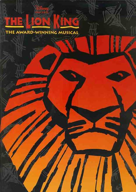 The Lion King (Musical), Jay Laga'Aia, Tony Harvey, Buyisile Zama, Terry Bader, 2003 Capitol Theatre Sydney Australia