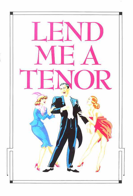 Lend Me a Tenor (Musical), Kevin Miles, Liz Burch, Tony Harvey, Rhonda Burchmore, Grant Smith,  Australian 1990 Production