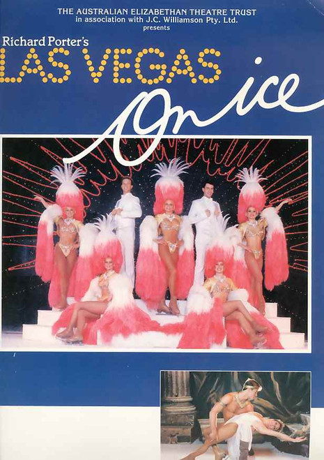 Las Vegas on ICE (Stage Spectacular),  Charlie Tickner, Jane Moody, Keith Green, Snadra Lenz, 1987 Australian Production