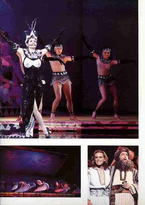 Joseph and the Amazing Technicolor Dreamcoat (Musical), David Dixon, Tina Arena, Peter Carroll, 1993 Australian Revival Tour