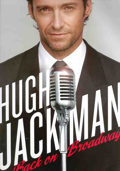 Hugh Jackman Back on Broadway (Musical), Broadhurst Theatre 2011 Broadway, Hugh Jackman Program, Souvenir Brochure