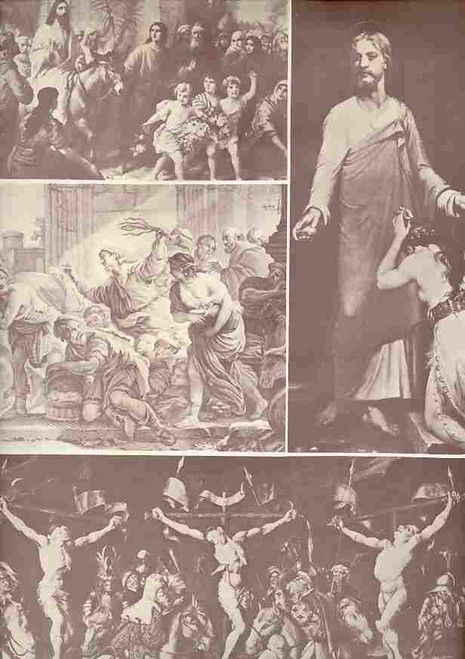 Jesus Christ Superstar (Musical), William Daniel Grey, Randy Wilson, Holly T Lipton, 1972 Fisher Theatre Detroit, Program, Souvenir Brochure