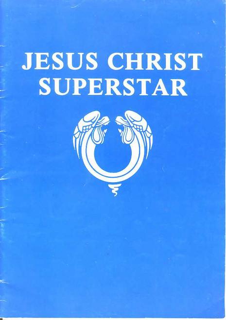 Jesus Christ Superstar (Musical), Trevor White, Doug Parkinson, Raymond Duparc, 1970's St George Australia, Program, Souvenir Brochure