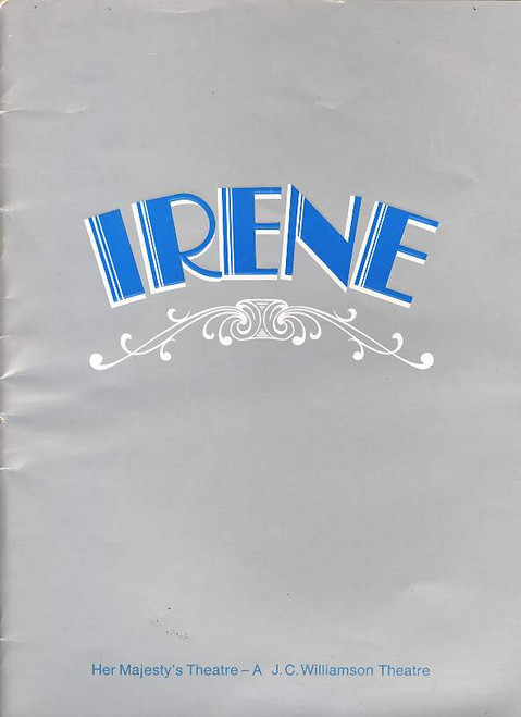 Irene (Musical), Julie Anthony, Noel Ferrier, Robert Colman, Joan Brockenshire, Australian Production Sept 26, 1975 Brisbane
