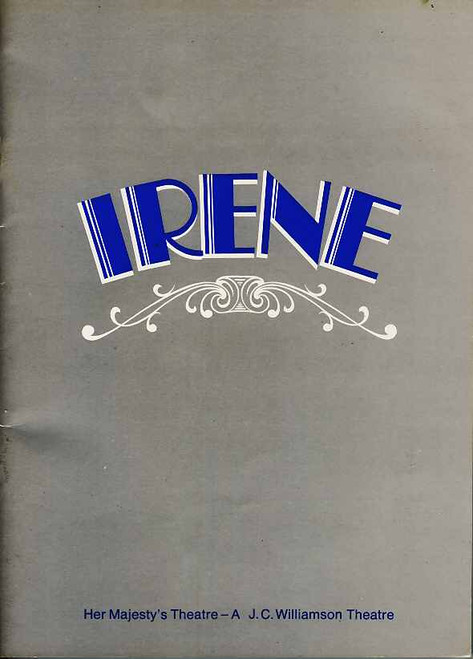Irene (Musical), Julie Anthony, Noel Ferrier, Robert Colman, Joan Brockenshire, Return Gala May 2, 1975  Sydney Production