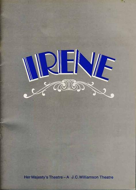 Irene (Musical), Julie Anthony, Noel Ferrier, Robert Colman, Joan Brockenshire, Return Gala May 2, 1975 Sydney Production