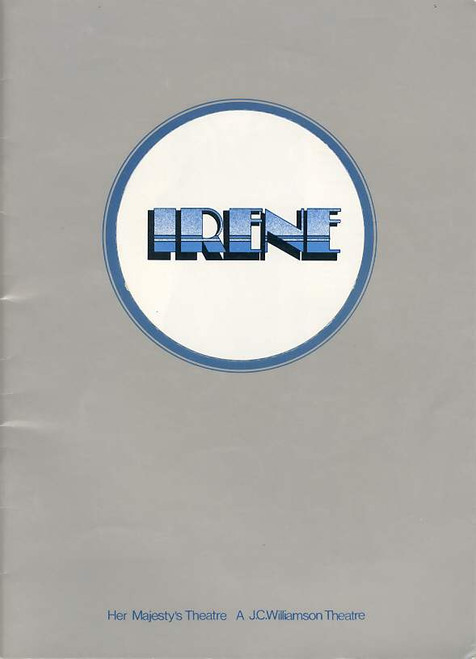 Irene (Musical), Julie Anthony, Noel Ferrier, Robert Colman, Joan Brockenshire, Australian 1974 Production
