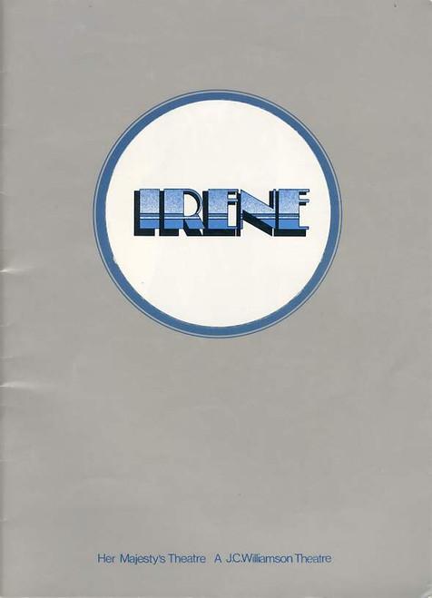 Irene (Musical), Julie Anthony, Noel Ferrier, Robert Colman, Joan Brockenshire, Australian 1974 Production